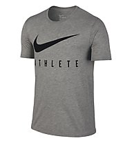 Nike Swoosh Athlete T-Shirt Training Herren, Grey