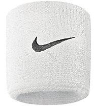 Nike Swoosh Wristbands - polsini tergisudore, White/Black