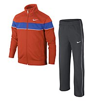 Nike Warm Up tuta da ginnastica bambino, Orange/Anthracite