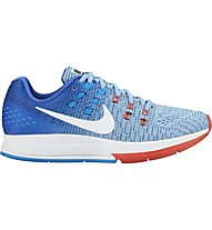 Nike Air Zoom Structure 19 W - scarpe running donna, Blue/Red