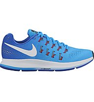 Nike Air Zoom Pegasus 33 - scarpa running donna, Blue Glow