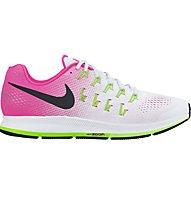 Nike Air Zoom Pegasus 33 - Damenlaufschuhe, Pink/White
