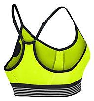 Nike Women's Nike Pro Cool Indy Sports Bra Reggiseno Sportivo, Yellow