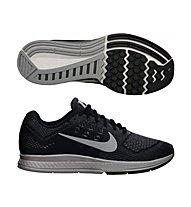 Nike Zoom Structure 18 Flash Damen, Black/Silver