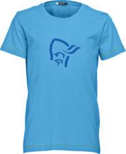 Bekleidung > Bekleidungstyp > T-Shirts >  Norrona /29 Cotton Logo T-Shirt Kinder