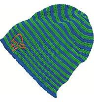Norrona /29 crochet striped Beanie, Jungle Fever