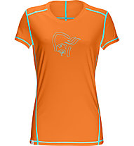 Norrona /29 tech T-Shirt trekking donna, Pure Orange