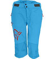 Norrona Fjora flex1 Shorts Damen MTB-Radhose, Caribbean Blue