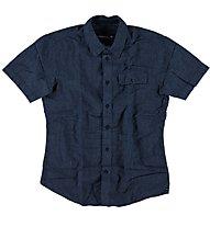 O'Neill LM The Pin camicia manica corta tempo libero, Blue Aop