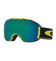 Oakley Airbrake XL - Skibrille, Black/Yellow