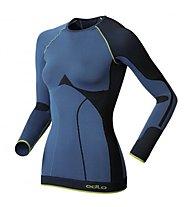 Odlo Evolution Warm Greentec Shirt, Light Blue