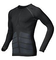 Odlo Evolution Warm L/S Shirt, Black