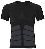 Odlo Evolution Warm Shirt SS crew neck, Black