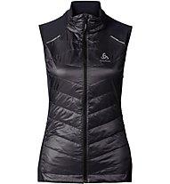 Odlo Primaloft Lofty Vest - gilet running donna, Black