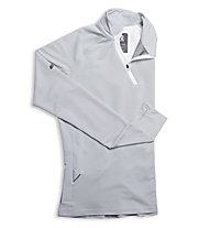 ON Clima-Shirt - maglia running donna, Grey/White