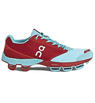 ON Cloudster W's - scarpe running donna, Chili/Curacao