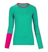 Ortovox Rock'n'Wool Langarmshirt Damen, Crazy Green
