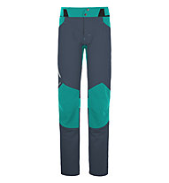 Ortovox Merino Shield Tec Pala Pantalone montagna donna, Night Blue