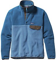 Patagonia M's LW Synch Snap-T P/O Felpa in pile trekking, Light Blue