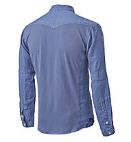 Pedal Ed Garage Shirt Camicia sportiva a maniche lunghe, Blue