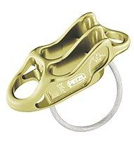 Petzl Reverso 4 - assicuratore/discensore, Light Yellow