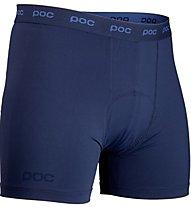 Poc Chamois Underwear Pantaloni Corti Bike, Blue