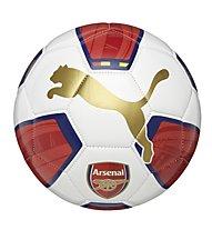 Puma Arsenal Fanwear Ball, White/H. R. Red/Gold/E. Blue