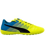 Puma EvoPower 4.3. TT - scarpe da calcio, Yellow/Black/Blue
