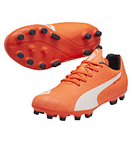 Puma evoSpeed 5.4 AG Jr., F. Coral/White/T. Eclipse