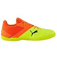 Puma Gavetto Sala - scarpe calcetto indoor, Yellow/Orange