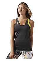 Reebok Cardio Bra Tank Top fitness donna, Black
