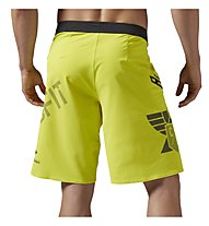 Reebok CrossFit Super Nasty Core Boardshorts Pantaloni corti fitness, Yellow