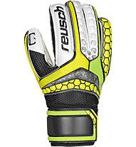 Reusch Repulse SG Finger Support Jr - guanti da portiere bambino, Yellow/Green