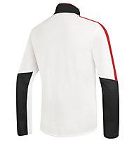 rh+ Maglia sci Planar Jersey, OffWhite/Red/Black