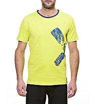 Rock Experience Duro Klettershirt, Lime Punch