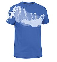 Salewa Arwa Spire CO M S/S Tee T-Shirt tempo libero, Azures