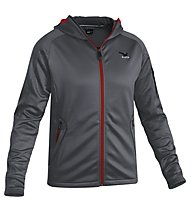 Salewa Bare Rock PL M Jacket Giacca in pile, Carbon