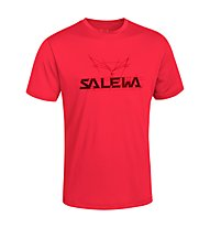 Salewa Puez (Dreizin) Dry'ton T-Shirt, Papavero