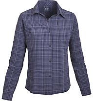 Salewa Fianit 2.0 Dry'ton Bluse Langarm, M Talut Loganberry