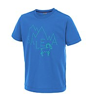 Salewa Frea Stambecco T-Shirt arrampicata bambino, Royal Blue