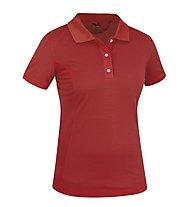 Salewa Itza 2 Dry'ton Poloshirt Damen, Red Pepper
