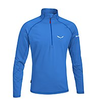 Salewa Ortles Cubic PL Shirt Maglia a manica lunga, Royal Blue