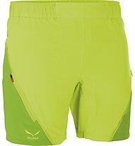 Salewa Pedroc pantaloni corti trekking donna, Swing Green