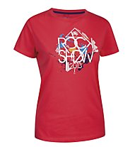 Salewa Rockshow 13 T-shirt arrampicata donna, Pink Rose