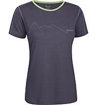 Salewa Sassolungo Dry'ton T-Shirt trekking donna, Loganberry