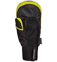 Salewa Ski Insulation PrimaLoft-Überhandschuhe, Black/Yellow