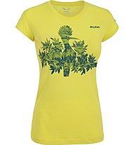 Salewa The Nugget Klettershirt Damen, Mimosa