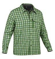Salewa Therma PL M L/S Shirt Camicia a maniche lunghe trekking, M Pamir Eucalyptus