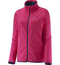 Salomon Discovery Fz Giacca in pile donna, Gaura/Pink