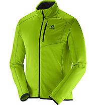 Salomon Discovery Fz M Giacca in pile, Granny Green